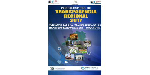 Tercer Estudio de Transparencia Regional EITI Moquegua
