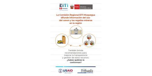 Miembros de la comisión regional EITI Moquegua