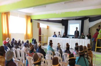 Realización del Monitoreo Ambiental Participativo en el Área de Influencia de la Empresa Minera Aruntani S.A.C. - TUCARI