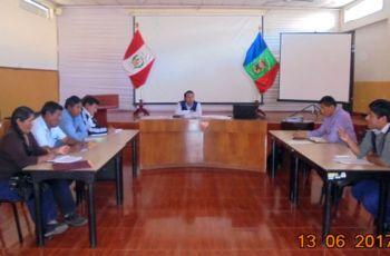 Reunión de Trabajo del Comité de Monitoreo Ambiental Participativo en el area de influencia de Operaciones Mineras U.P. Tucari – Aruntani S.A.C.