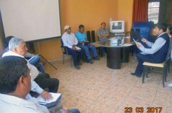 Reunión Extraordinaria del Comité de Monitoreo Ambiental Participativo del Proyecto Minero Aurífero Tucari de la Empresa Minera Aruntani S.A.C.