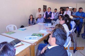 Instalan El Comité de Monitoreo Ambiental en Moquegua para tratar el Tema de la Contaminación del Río Coralaque