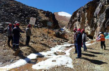 Realizaciòn del Monitoreo Ambiental Participativo en el Area de Influencia de las Operaciones Mineras U.P. Tucari – ARUNTANI  S.A.C. correspondiente al presente año